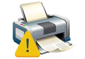 не работает подключенный принтер